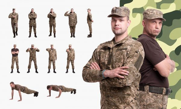 military people cutout elearning news