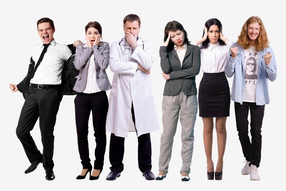 мультимедиа в курсах eLearning бизнес персонажи