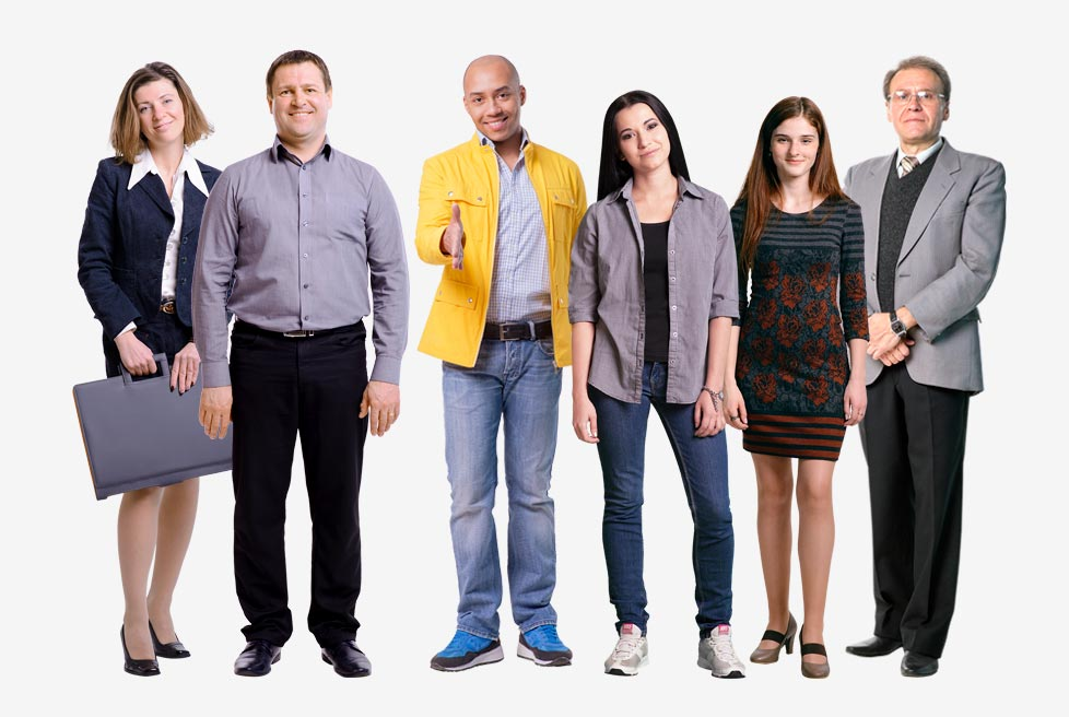 мультимедиа в курсах eLearning вырезан. персонажи